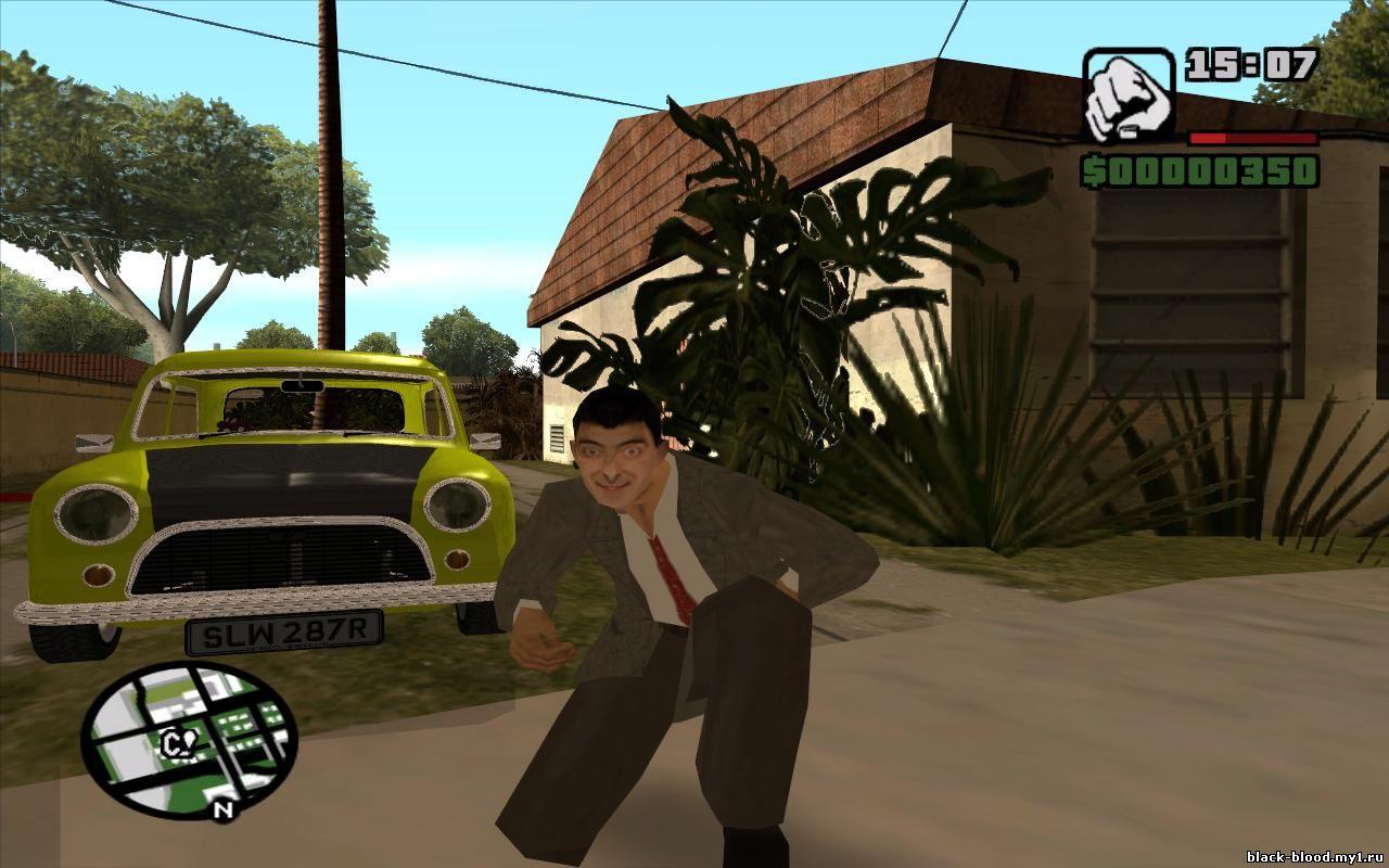 Mr Bean Auto Spiele
